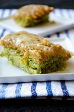Give Recipe | Skinny Zucchini Casserole | http://www.giverecipe.com