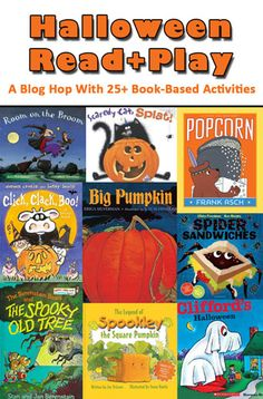 Halloween Read + Play: A blog hop with 25+ Book-Based Activities!!!
