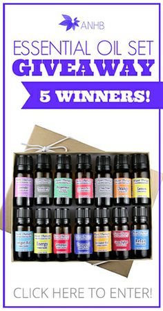 14 Piece Essential Oil Set GIVEAWAY – 5 Winners!!! | All Natural Home and Beauty