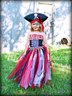 Pirate TuTu Costume.