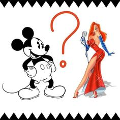 Let's have a little throwback fun... if you were a cartoon character, would you rather be cast alongside classic Mickey Mouse or heat-seeking Jessica Rabbit? #Astroglide #ThrowbackThursday #TBT #MickeyMouse #JessicaRabbit #cartoons #classic #heatseeker