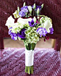 Touch of Purple Bouquet