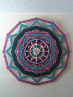 Yarn Mandala -- Ojo de Dios