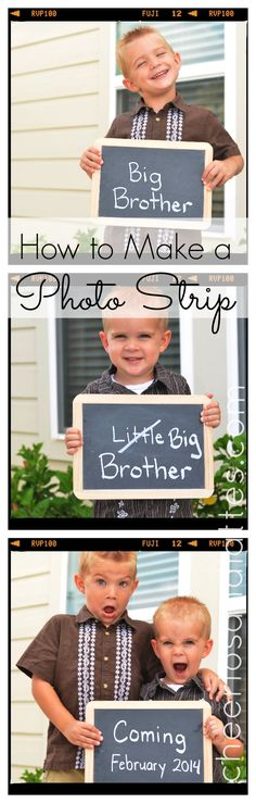 How to Make a Photo Strip
