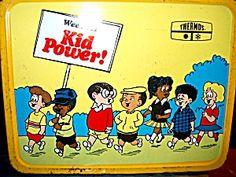 Metal Wee Pals Kid Power Lunchbox