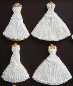 Wedding Dress Cookies | Recent Photos The Commons Getty Collection Galleries World Map App ...