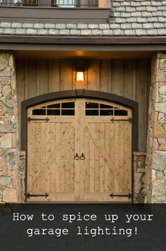 #HowTo spice up your #Garage #Lighting