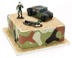 GI Joe cake for the Army Birthday Party!!