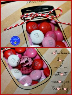 cut out mason jar valentine treat bags