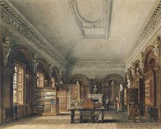The Royal Collection: The Queen's Library, St James's
