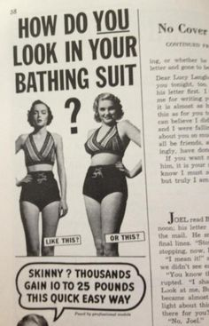 In a magazine from the 1950s