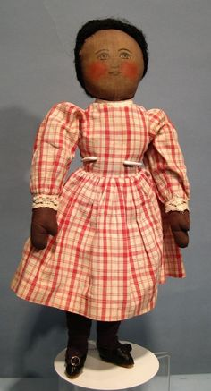 Wonderful Black Babyland Rag Doll from bisquebeauties on Ruby Lane