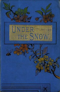 Blue Book Cover, Under the Snow, Vintage