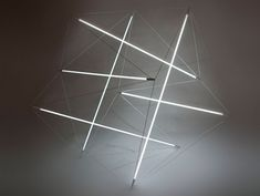 --Tensegrity lights by Michal Maciej.