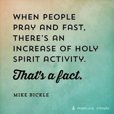 prayer  fasting. I really believe this!