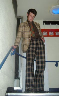 I FINALLY FOUND IT. MY FAVORITE PICTURE OF MATT SMITH. Class at its finest