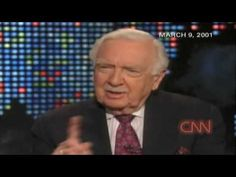 Walter Cronkite Highlights -- The JFK Assination and the Moon Landing.