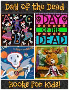 Day of the Dead Books for Kids; Dia de los Muertos