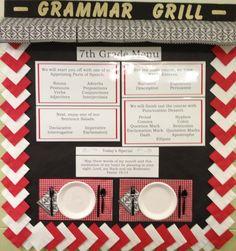Grammar Grill Bulletin Board