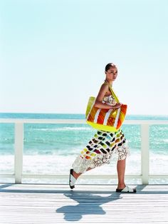 Summer is about spontaneity after all, isn't it? Find our favorite beach bags on Vogue.com. beach bags
