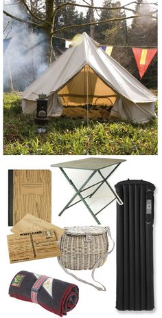 Camp Out: This looks so cozy!