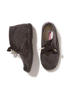 Canvas High Top Shoe