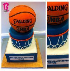 Spalding NBA Cake