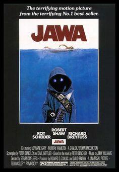 Jaws + Star Wars = Jawa
