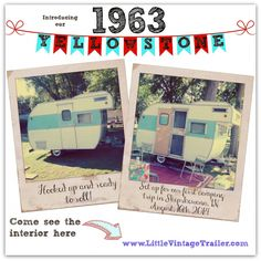 1963 Yellowstone - Cutest Vintage Camper On Earth!