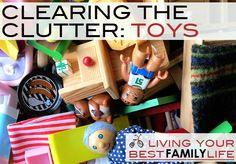A Plan for Clearing the Clutter of Kids Toys