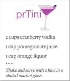 This drink was a hit at the Geben holiday party. So good!