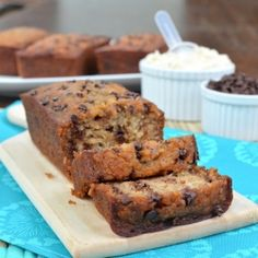 Skinny Mini Banana Bread recipe