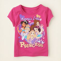 Disney Princess Graphic Tee from The Childrens Place on Catalog Spree, my personal digital mall.