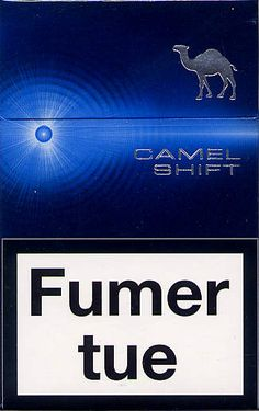 Camel shift   French filter cigarette (convertible)