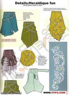 Sewing Refashion:  ideas
