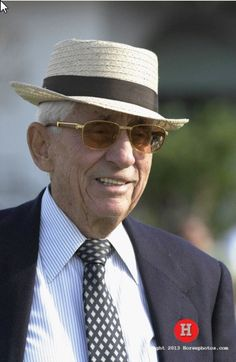 Legendary trainer John Nerud celebrated his 90th birthday on February 9, 2013.