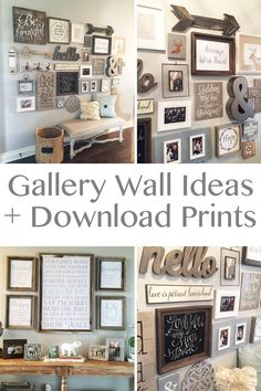 Gallery Wall Ideas.