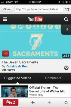The 7 Sacraments - they are what Jesus did on earth and what He is still doing. Short video http://youtu.be/qmfSwi3ZKH4