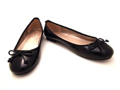 Black Ballet Flats $30 from vivienneparis