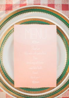 summer picnic, plate, sweet menu