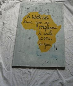 Canvas painting of  Africa or desired country by PreciousGoons, $30.00
