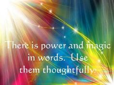 Power in words… #positive #affirmations