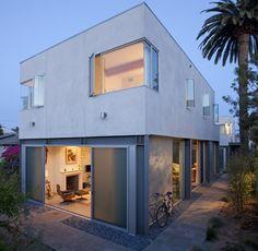 Duplex fourplex plans on pinterest duplex design modern for Modular fourplex