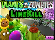 Plants Vs Zombies LineKill | Juegos Plants vs Zombies - jugar gratis