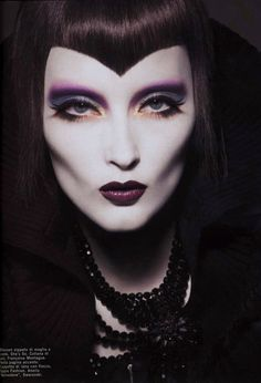 Vogue Italia 2005 #makeup #beauty #Halloween #HalloweenMakeup #party #HalloweenIdeas  #HalloweenCostume #costumes #inspiration #DIY #howto #tutorial