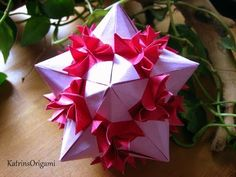 Origami Bonsai Kusudama - YouTube