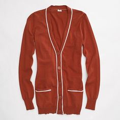 J.Crew piped pocket cardigan [Factory]