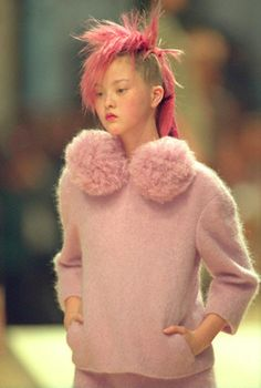 devon+candyfur=the best! chanel, haute couture, fall 99