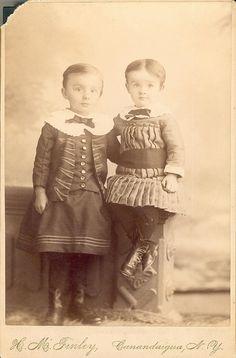 Victorian Boys - Cabinet Card by snap-happy1, via Flickr