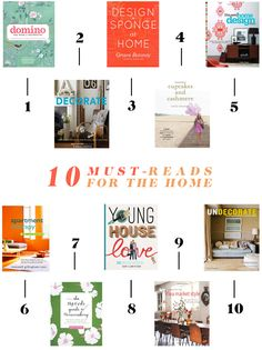 10 Must-Reads For The Home | www.theglitterguide.com